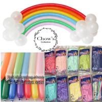 Balon Latex Pentil Macaron / Balon Karet Twist Pastel
