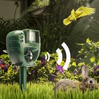 Digoo DG-AR01 PIR Animal Dispeller Dog Cat Flash Light Dog Repeller