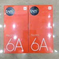 "XIAOMI REDMI 6A RAM 2GB INTERNAL 16GB GARANSI TAM"""