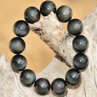 Gelang Batu Black Gray
