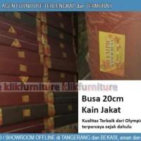 Kasur Busa Olympic 200 x 90 x 20 cm Kain Jakat