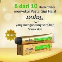 Pasta Gigi Sasha Toothpaste Siwak Halal Herbal Antibacterial 150gr