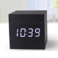 Jam Waker Kayu / LED Digital Wood Clock - JK-808