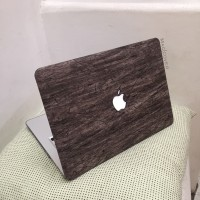 mac book macbook NEW 12 inch hard case mac cover skin wood kayu