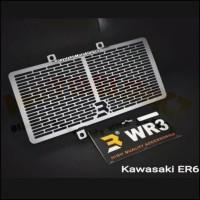 Cover Radiator WR3 ER6 NINJA 650 VERSYS 650 Aluminium