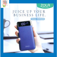 Zola Powerbank Venus 10000 mAh Smart LED - Navy