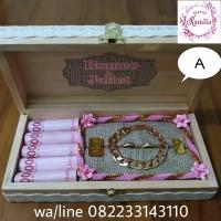 kotak mahar pernikahan untuk display uang dan perhiasan cincin kawin