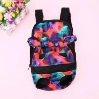 Tas gendong anjing kucing backpack travel dog cat Lip kiss dan Colour