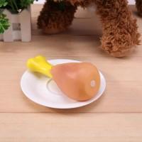 mainan anjing gigitan hewan Pentungan squeaky dog toy chicken Rubber