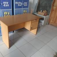 meja tulis kerja besar murah bagus