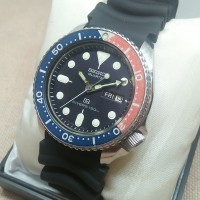 Seiko Diver 7548 Dessert Storm jam tangan antik divers pepsi vintage