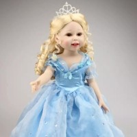 Boneka Reborn Cinderella / Boneka Bayi NPK / Mainan Anak