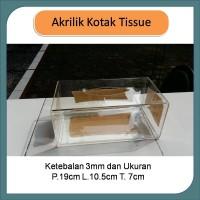 Akrilik Kotak Tissue