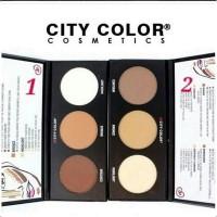PRODUK TERBARU City COLOR Contour Effects ONE 1 / TWO 2 Powder Palette