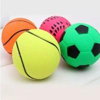 Mainan bola anjing bola karet hewan kucing dog toy ball cat Tahan Lama