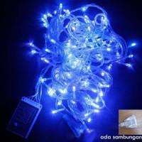 Lampu Led Natal Dekorasi , Tumblr, Led Twinkle Light , Led String BIRU