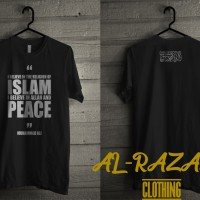 kaos muslim ( muhammad ali quotes with tauhid )