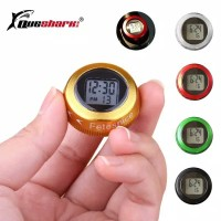 MTB Road Bicycle Headset Stem Watch Computer Vehicle Clock