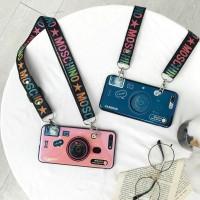 Casing OPPO A71 A37 A57 A3s A83 F9 F5 F1s F7 Soft Case Camera Stripe