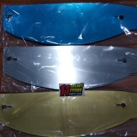 tear off iridium untuk helm custom... PNP to kbc/thx/RSV/ffzero/ff300