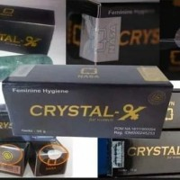 Crystal X (NCX) Nasa | terdaftar POM NA 18171600045