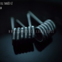 Fused Clapton Twisted Messes Nichrome TMN80 - Prebuilt Coil Kawat Vape