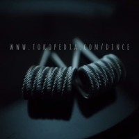 Alien Fused Clapton Full TM Twisted Messes Ni80 TMN80 Coil Vape Vapor