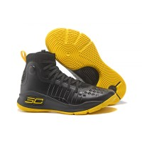 Under Armour Curry 4 Black Yellow""