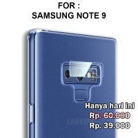 TEMPERED GLASS Samsung Note 9 anti gores hp lensa screen guard CAMERA