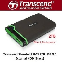 Transcend StoreJet 25M3 2TB Iron Grey USB 3.1 / HDD / Hardisk External