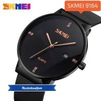 SKMEI jam tangan pria analog fashion casual original 9164 hitam