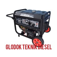 IZUMI Genset Bensin 7000 watt W ( Generator Listrik ) GS-8500
