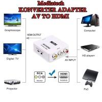 Mediatech Adaptor Konverter AV To HDMI / AV2HDMI ( 649644 )