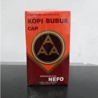 Kopi Murni Bubuk Hitam Excelsa Nikmat Asli Cap AAA Nefo Jambi 500 Gram