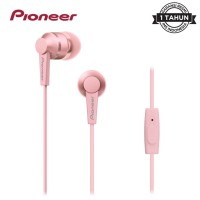 Pioneer SE-C3T Earphone with Mic - Pink