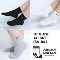 Kaos Kaki Nike Kualitas Premium Panjang Polos Olahraga Gym Grosir