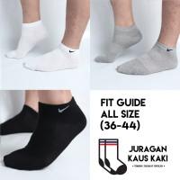 Kaos Kaki Nike Kualitas Premium Pendek Mata Kaki Polos Olahraga Grosir