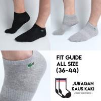 Kaos Kaki Lacoste Pendek Semata Kaki Premium Socks Grosir Termurah