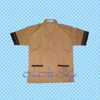 Kemeja / Baju Seragam Sekolah SD Pramuka Siaga Pendek Famatex