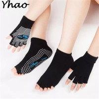 1 SET Kaos kaki Yoga dan Sarung Tangan Yoga Gloves / Gym Gloves
