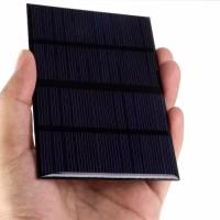 Diy Modul Solar Cell / solar Panel Surya Mini 12V-1.5W Polycrytalline