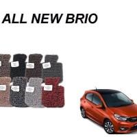 Karpet mobil Comfort Deluxe khusus All New Brio 2018 2 Baris