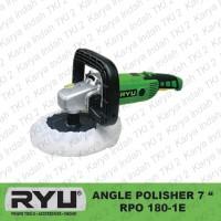 Mesin Poles Mobil 7 RYU RPO180-1E Angle Polisher 7 Inch RPO 180