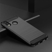 Case Huawei Honor Play Luxury Carbon Fiber Softcase