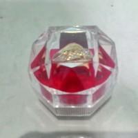 Kotak cincin akrilik kotak penyimpanan cincin transparan acrylic