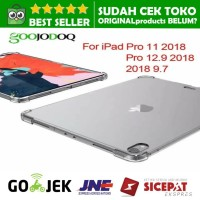 SOFTCASE NEW IPAD PRO 11 12.9 inci 2018 cover soft case bening 11 12