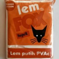 Lem fox putih 700 gr/ lem slime