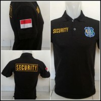 BEST SELLER POLO SECURITY / POLO SHIRT SECURITY / KAOS KERAH SECURITY