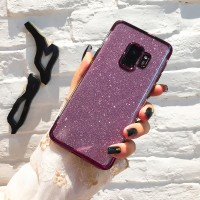 Casing Samsung Galaxy S8 S9 Plus Note 8 9 Plating Soft Case Silikon