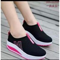 Sepatu Wanita Slip On Jaring M SP62